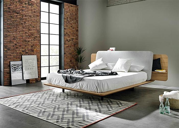 habitación en estilo ecléctico, como decorar una habitacion de matrimonio moderna