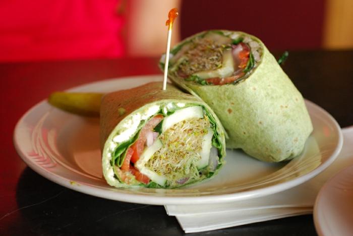 bocadillos ricos con muchas verduras, ideas de recetas bajas en calorias en fotos, que comer hoy