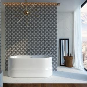 Los mejores diseños de baño gris y blanco - más de 100 ideas en imágines