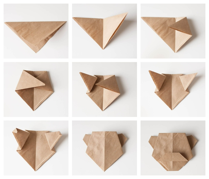 como hacer un pero de papel en origami paso a paso, origami facil con tutoriales en imágines