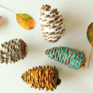 Ideas originales de manualidades con piñas para decorar la casa en otoño