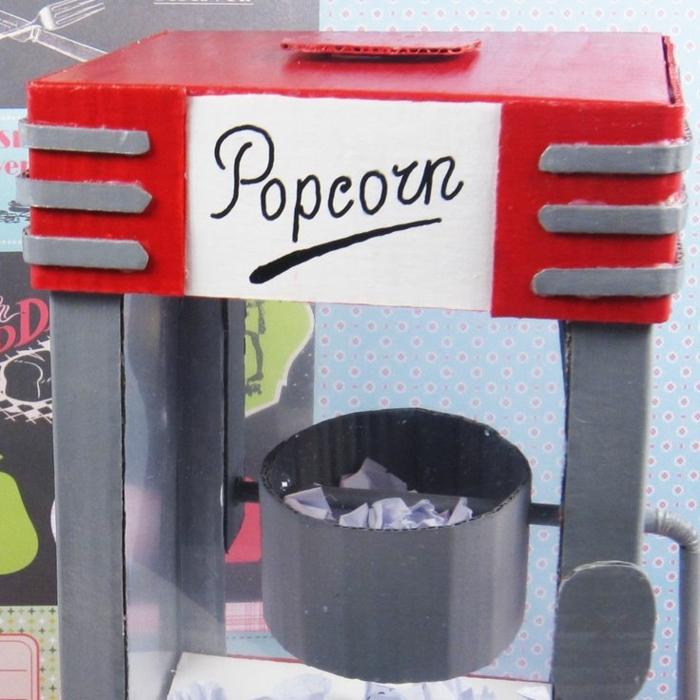 sorpresas de cumpleaños para amigas, máquina con mensajes para tí, popcorn máquina, pasos