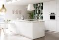 Cocinas modernas blancas – los 90 diseños más bonitos