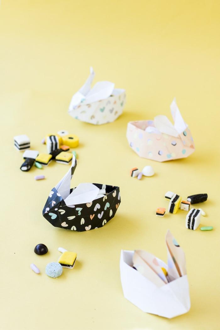 pequeños detalles hechos con papel paso a paso, decoración DIY con papel, ideas de papiroflexia facil