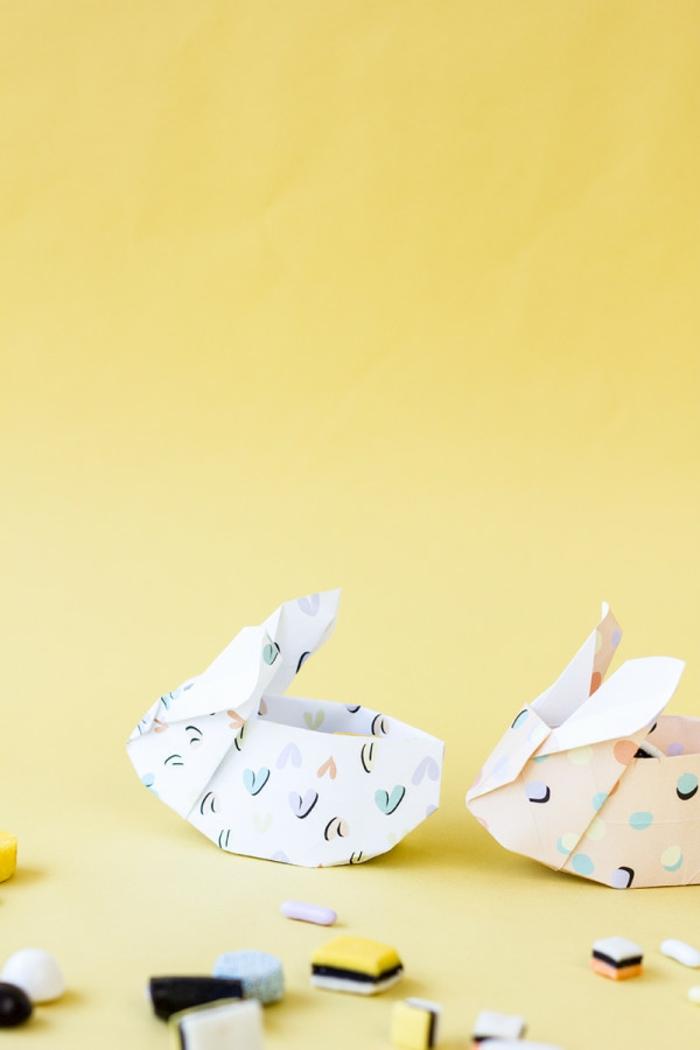bonitas y ¡creativas ideas de papiroflexia facil, pequeñas figuras hechas con papel para adornar la casa