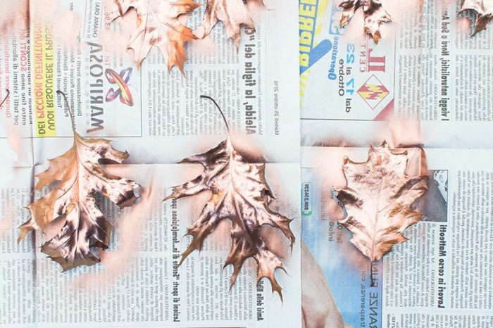 como hacer una guirnalda DIY de hojas secas y piñas, manualidades originales para decorar la casa