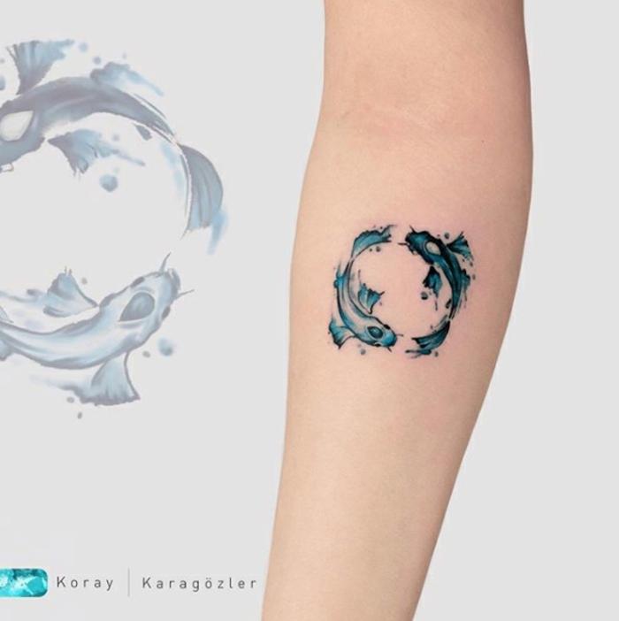 bonitos diseños tatuajes brazo mujer con significado, diseños inspiradores y originales para tatuajes del antebrazo