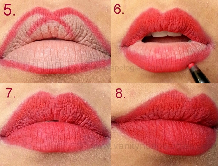 ideas sobre cómo pintarse los labios con un lápiz para que luzcan más grandes y carnosos