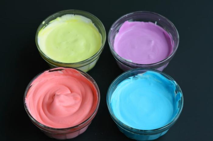 manualidades para niños faciles y divertidas, espuma en diferentes colores, manualidades con slime