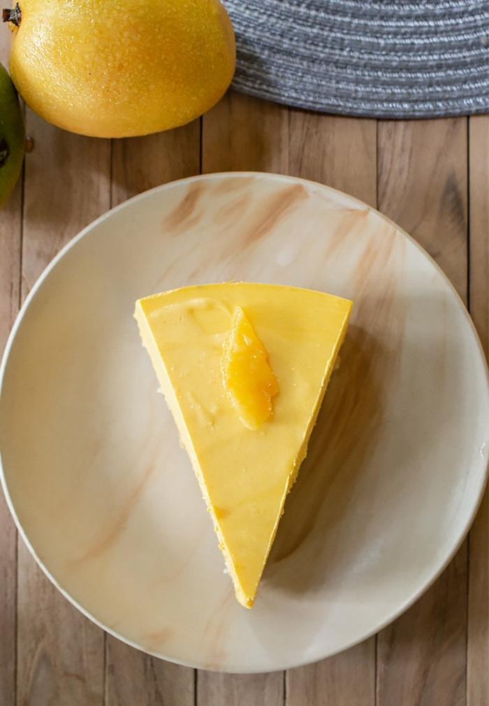 como hacer una tarta de queso filadelfia con mango, ricas propuestas de postres rápidos y fáciles