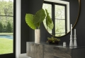 Recibidores modernos decorados según las últimas tendencias en decoración de interiores
