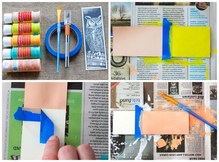 ideas de marcarpaginas decorativas para regalar hechos en casa, separadores de libros de carton