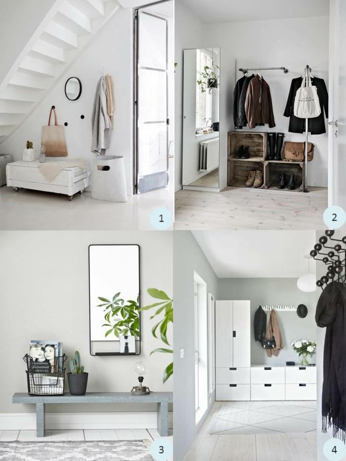 entraditas y recibidores decoradas según las top tendencias en colores claros, ideas de decoración de recibidores