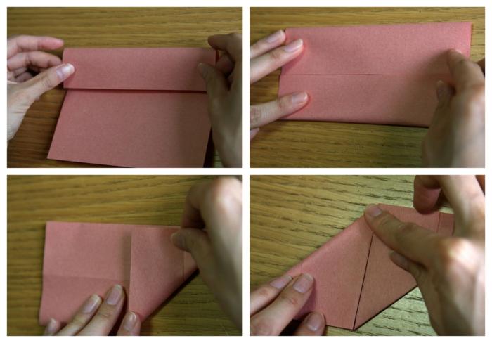tutoriales para hacer papiroflexia facil, cubos tridimensional hecho con papel, manualidades fáciles de hacer en casa