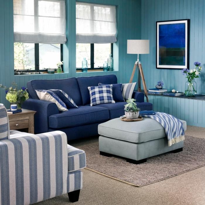 1001 ideas de los mejores pisos decorados del a o 2018 for Alfombra azul turquesa del dormitorio