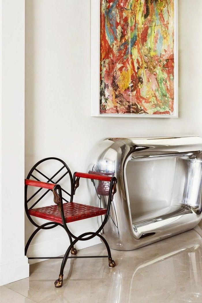 ideas de decoración de entradas, recibidores y pasillos modernos, muebles recibidor estrecho