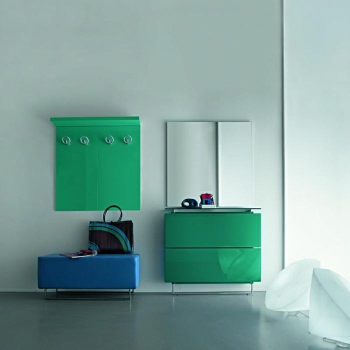 como decorar una entrada super moderna con muebles en estilo contemporáneo, muebles recibidor estrecho