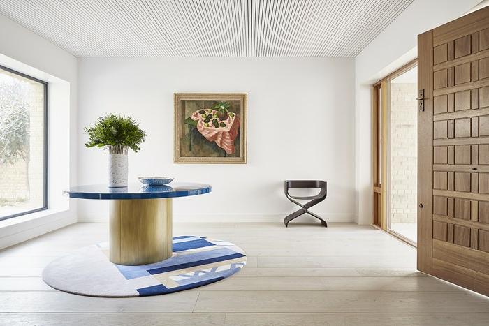 recibidor super moderno grande y espacioso, recibidores de casas según las últimas tendencias