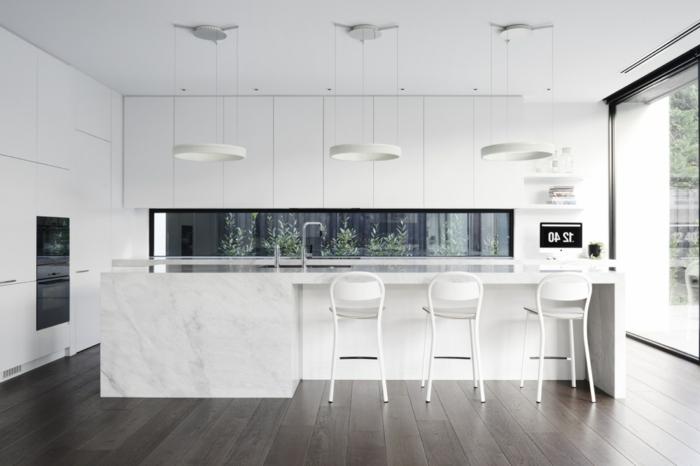 1001 Ideas De Decoración De Cocinas Modernas Blancas