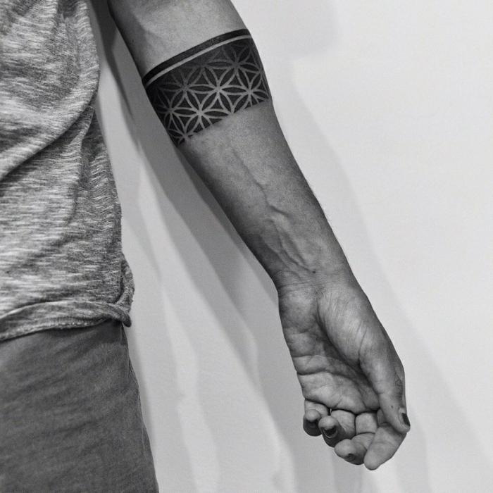 1001 Ideas De Originales Tatuajes En El Antebrazo - Tatuajes-de-brazaletes-para-el-brazo