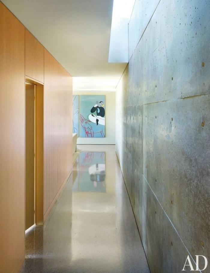 entraditas pequeñas decoradas en estilo minimalista, corredor modernos con paredes con baldosas