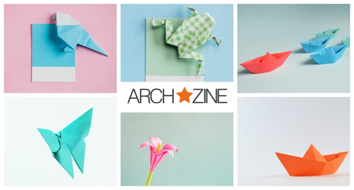 ideas de origami facil, figuras en origami fáciles de hacer, flores y animales DIY hechas con papel