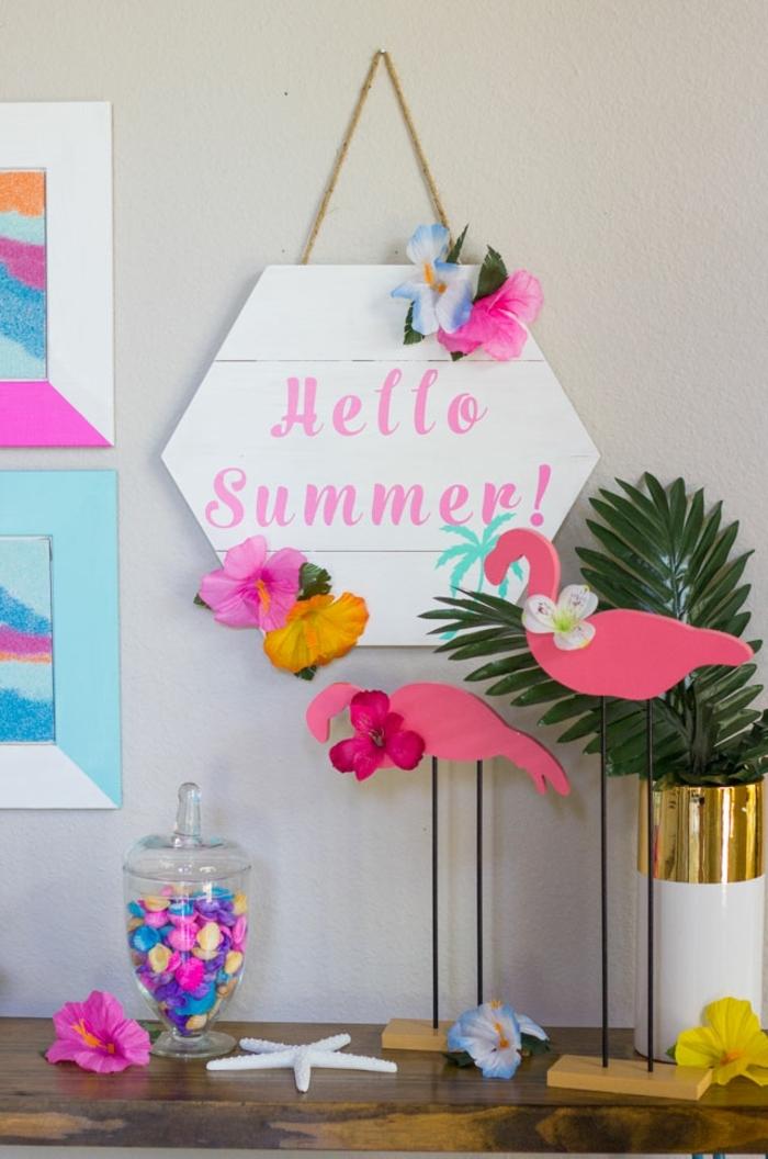 manualidades faciles para hacer en casa para decorar el hogar, proyectos DIY para el verano