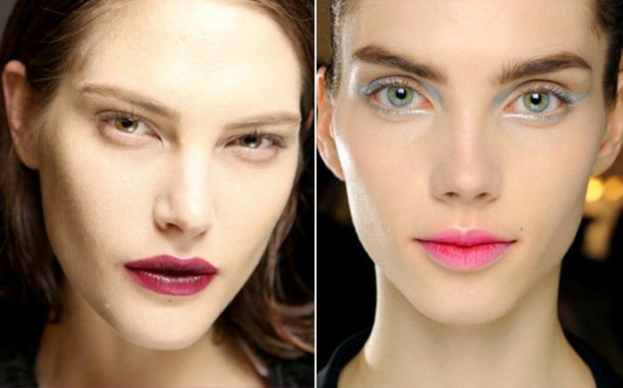 como aprender a maquillarse según las ultimas tendencias, fotos con ideas de maquillaje y tendencias