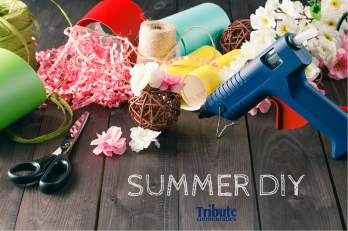 como hacer manualidades de papel para decorar la casa en verano, manualidades faciles y rapidas