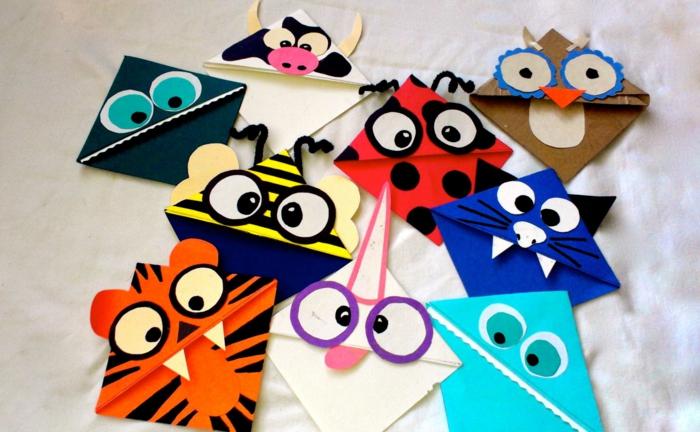 divertidas ideas para los pequeños, actividades y incentivos para leer más, marcarpáginas infantiles DIY