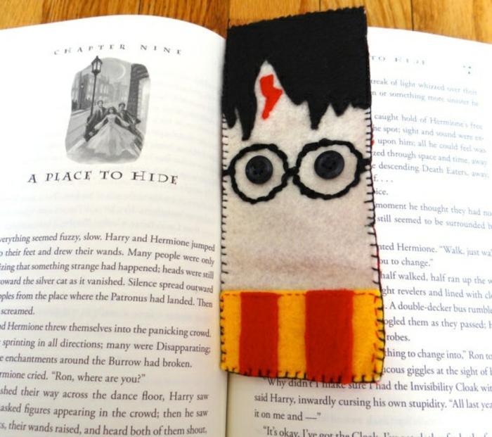 separadores de libros personalizados para los amantes de la lectura, marcarpaginas de lana Harry Potter