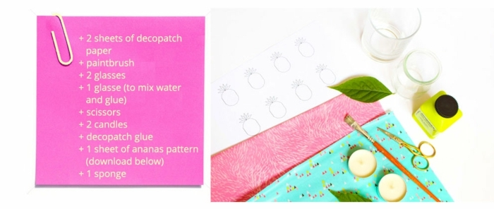 materiales necesarios para hacer cuadros decorativos con washi tape, manualidades faciles y rapidas