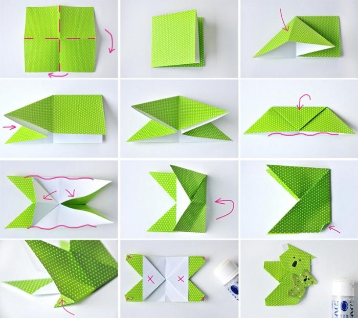 pasos para hacer una koala originami de papel, marcarpaginas manualidades con tutoriales