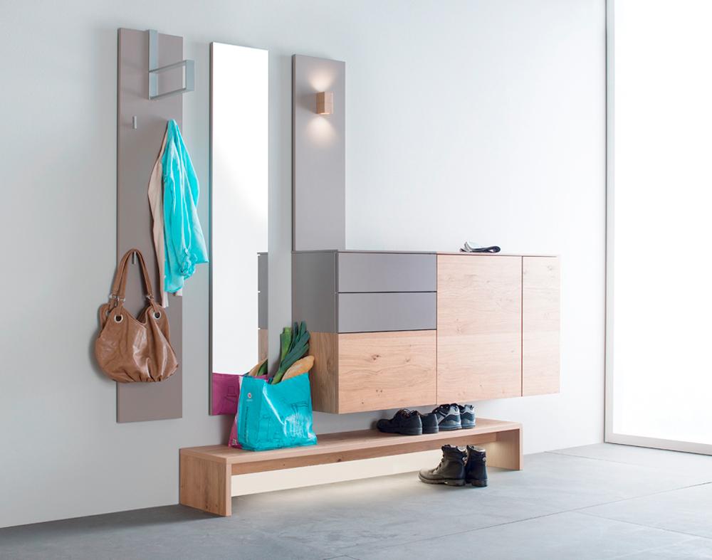 entraditas pequeñas decoradas en estilo minimalista, como decorar un recibidor de encanto