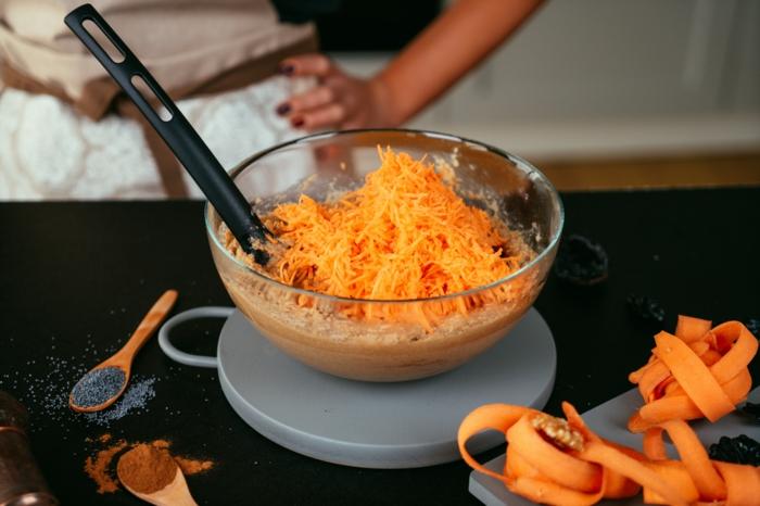 pasos para hacer bizcocho de zanahorias, recetas paso a paso en fotos y videos, ideas de recetas caseras originales