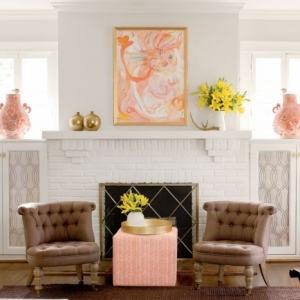 ¿Cómo decorar una chimenea con mucho estilo? - ¡85 ideas de encanto!
