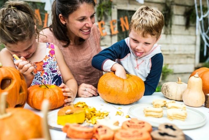 ideas divertidas de recetas con calabaza para toda la familia, recetas de otoño paso a paso