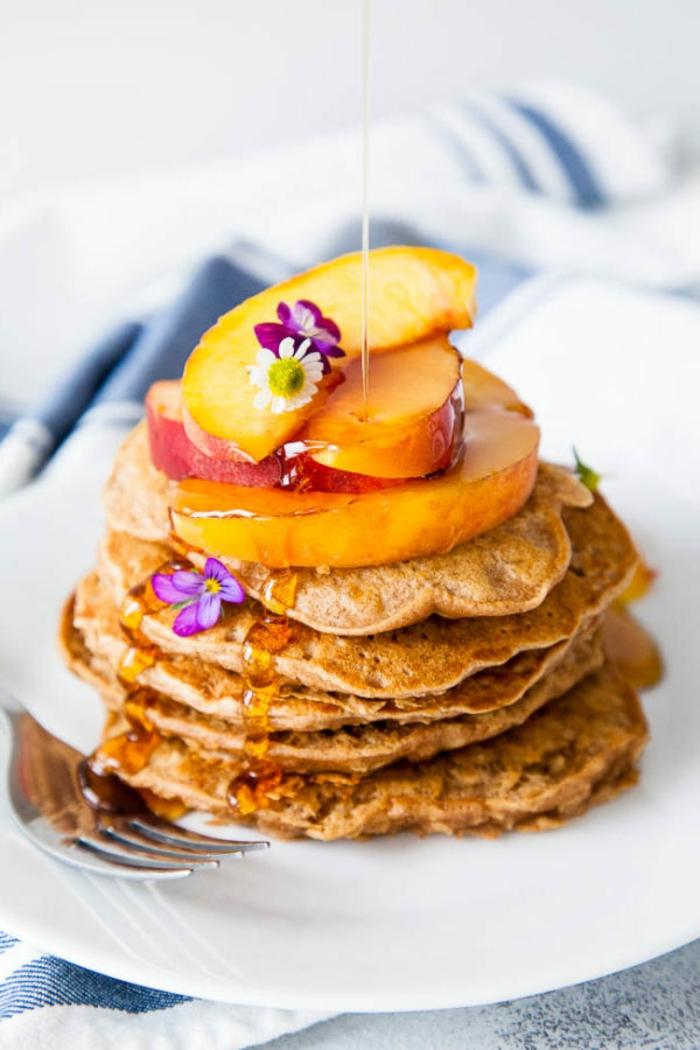 como hacer tortitas de copos de avena paso a paso, recetas faciles y originales de desayunos con avena