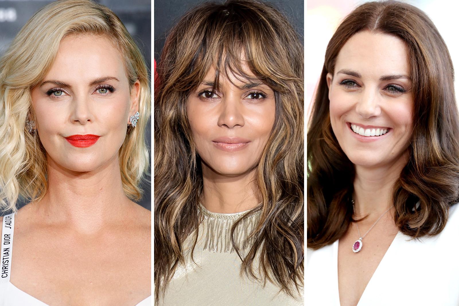 celebridades con forma de rostro ovalada, ideas de cortes de pelo modernos, cortes de pelo mujer segun rostro
