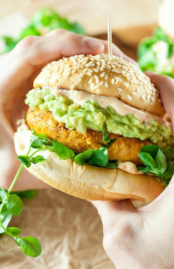 como hacer una hambuerguesa vegana con calabaza, recetas con calabaza fáciles rápidas y saludables