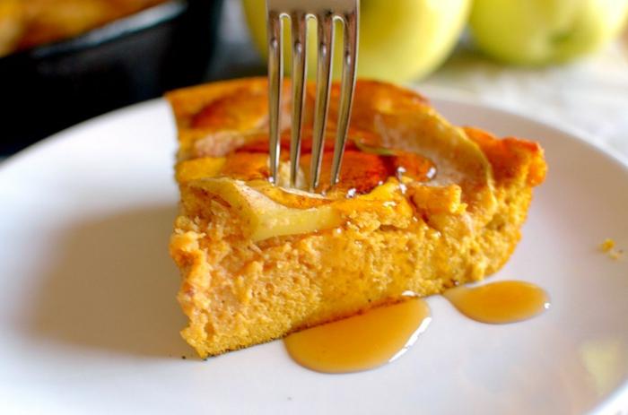 como hacer una tarta de calabaza con manzanas, receta original para hacer en casa en otoño