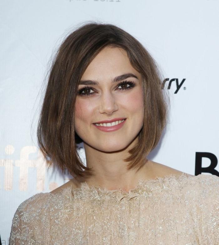 celebridades de la alfombra roja, ideas sobre cortes de pelo para mujer según el rostro