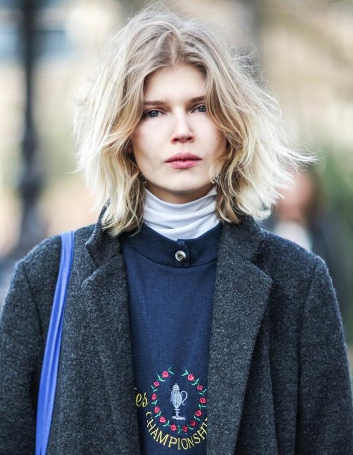 ideas de cortes de pelo para cara redonda o cuadrada, los mejores peinados para cada rostro