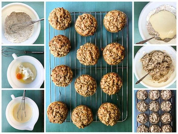 como hacer magdalenas de copos de avena paso a paso, ideas de recetas con copos de avena