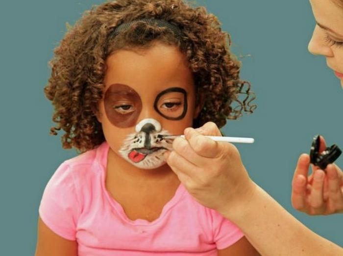 como conseguir una cara pintada de gato o pero, tutoriales de maquilaje en imágines