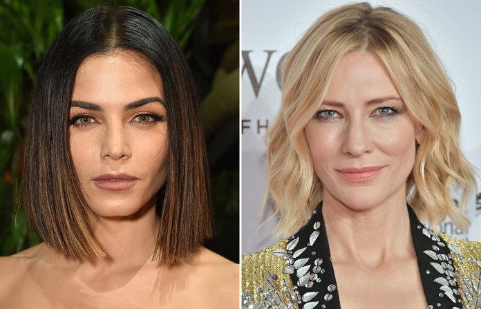 cortes de pelo modernos, ideas de cortes de pelo según la forma de la cara, dos variantes de corte de pelo bob
