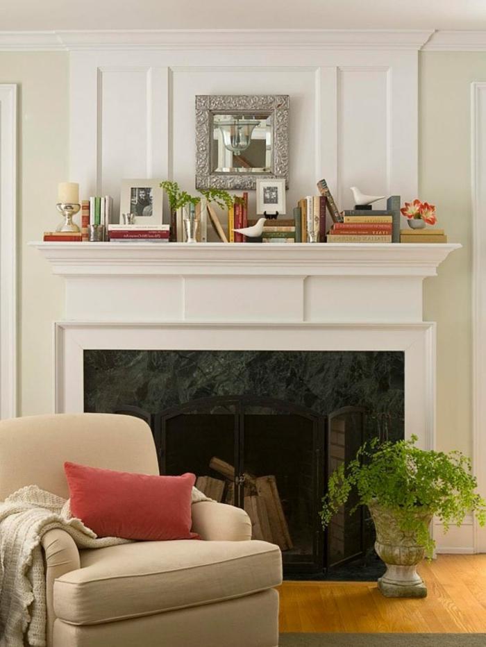 chimeneas decorativas ikea, cómo crear un rincón acogedor en tu salón, decoración con libros