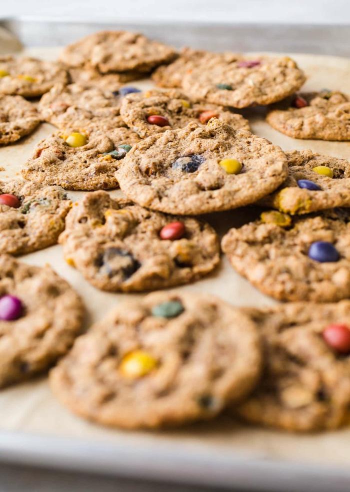 copos de avena desayuno ideas originales, galletas crujientes y ricas de avena, recetas faciles y rapidas