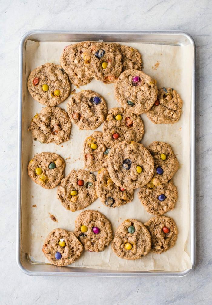 preciosas ideas de copos de avena desayuno, galletas super ricas de avenas, propuestas sobre que comer hoy