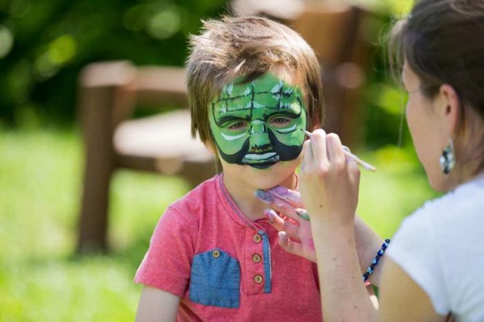 maquillaje halloween facil para los niños, ideas divertidas y originales para realizar en casa